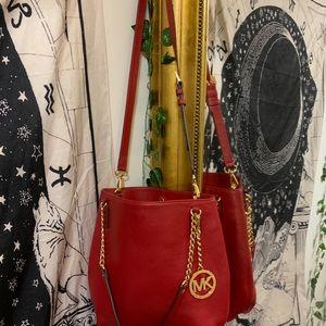 Authentic Michael Kor's 2 way bag